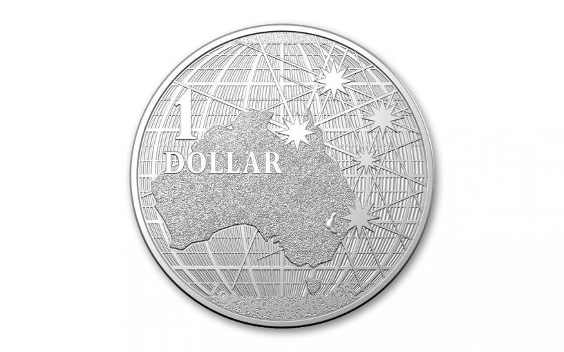 Australia 2021 $1 1oz Silver Beneath the Southern Skies Platypus BU