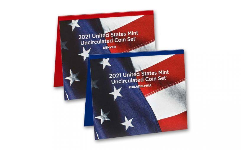 2021-P&D U.S. Mint Set