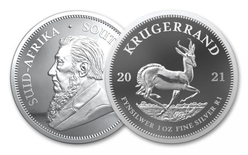 2021 1oz Silver Krugerrand Proof