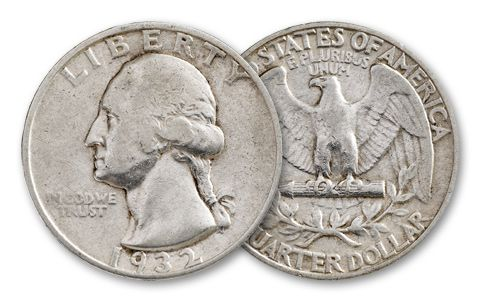 1932-P Washington Quarter AU