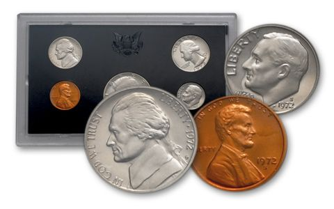 1972 S Roosevelt Mint Proof Dime ~ U.S Coin from Original Proof Set