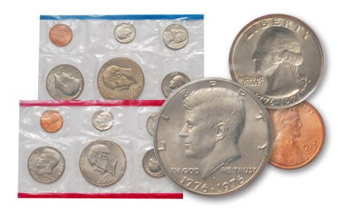 1975 United States Mint Uncirculated Coin Set
