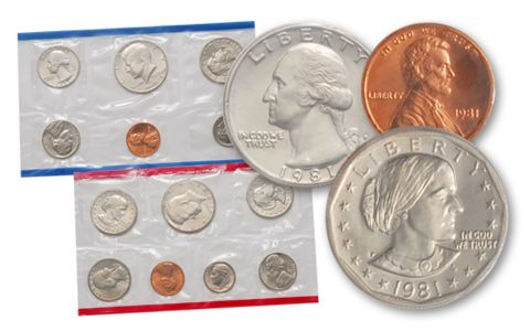 1981 United States Mint Set