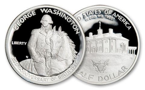 1982-S Mint State Washington Half Dollar BU