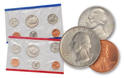 1988 United States Mint Set