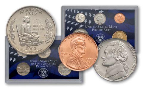 2003 US Mint Silver Proof Set