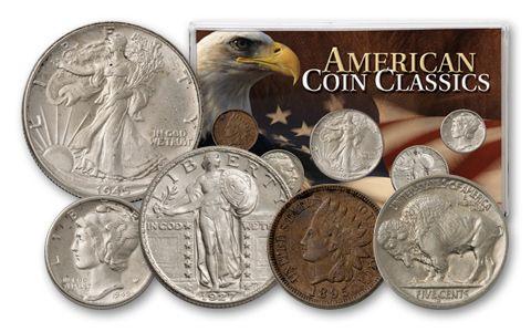 American Classics Coin Collection 5 Pieces - BU