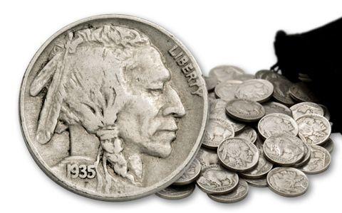Buffalo Nickels 100th Anniversary 1 Pound Bag