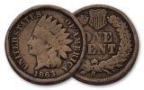 1863 1 Cent Indian Head G-Fine