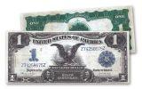1899 1 Dollar Silver Certificate Black Eagle VF