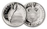 1994 Silver Dollar U.S. Capitol Bicentennial Commemorative Proof