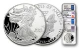 2017-S $1 1-oz Silver Eagle 4-pc Proof Set NGC PF70UC First Releases w/Mercanti, Jones, Moy & Jeppson Signatures