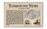 "1880-1882-S $1 Silver Morgan 3 Piece Set Wild West ""Outlaw"""