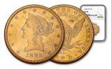 1892-CC $10 Liberty NGC AU58