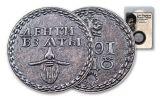 2019 Smithsonian 10 Gram Silver Russian Beard Token Antiqued BU