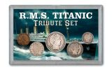 1912 RMS Titanic Tribute 5-Piece Collection VG