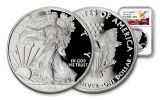 2019-W $1 1-oz American Silver Eagle NGC PF70UC First Releases - Eagle Label