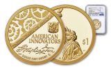 2018-S American Innovation Dollar NGC PF70UC First Releases