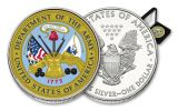 U.S. Armed Forces Army $1 1-oz Silver American Eagle Colorized Commemorative BU