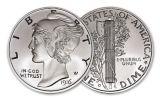 1916-D 2-oz Silver Mercury Dime Tribute