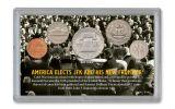 1960 John F. Kennedy Election Year 5-pc Set BU w/Bonus 1964 Kennedy Half Dollar