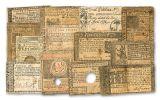 13PC 1763-1780 COLONIAL NOTE COLLTN CIRC #2 W/ALB