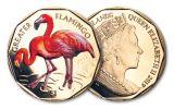 2019 British Virgin Islands $1 8-gm Virenium® Greater Flamingo Proof