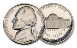 "Five Decades of ""S"" Mint Jefferson Nickel Proofs 5-pc Set"
