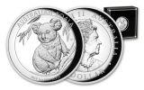 2019 Australia $1 1-oz Silver Koala High Relief Proof