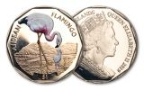 2019 British Virgin Islands $1 8-gm Virenium® Andean Flamingo Proof