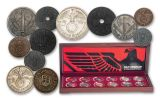 12PC NAZI GERMANY COLLECTION W/PRESENTATION CASE