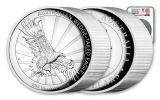 2019 Australia $10 10-oz Silver Wedge-Tailed Eagle High Relief Proof NGC PF70UC First Releases w/Mercanti Signature