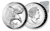 2020 Australia $1 1-oz Silver Wedge Tailed Eagle High Relief Proof