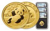 3PC CHINA 2020 GLD PANDA NGCMS70 FR SHG SONG BC
