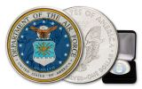 2020 $1 1-oz Silver American Eagle U.S. Armed Forces Air Force Colorized Edition