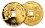 3PC CHINA 2020 GLD/SLV TIGER NGCPF70 FDI SONG BC