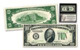 1934 $10 Federal Reserve Note Green Seal Circulated