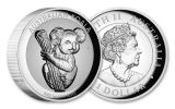 2020 Australia $1 1-oz Silver Koala Incuse High Relief Proof
