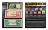 World War II 23-pc Historic Coin, Note & Stamp Collection
