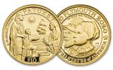 2020 Great Britain/U.S. 1/4-oz Gold Mayflower 400th Anniversary Proof 2-pc Set