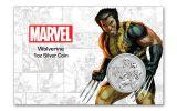 2021 Tuvalu $1 1-oz Silver Wolverine BU w/ Card