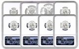 2020-S United States Mint Limited Edition Silver Proof Set NGC PF70UC First Releases w/Trolley Label