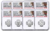 2020-S United States Mint Limited Edition Silver Proof Set NGC PF70UC First Day of Issue w/Trolley Label