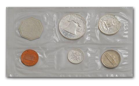 1962 Silver Proof Set in Original SEALED Envelope Packaging