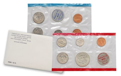 Mint Set 1969 U.S