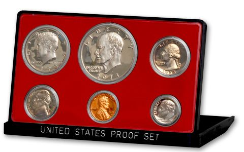 1973 S Roosevelt Mint Proof Dime ~ U.S Coin from Original Proof Set
