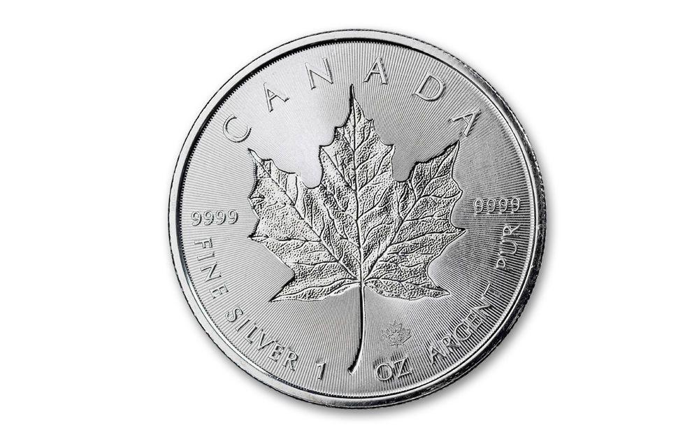 Flag Label 2018 Canada 30th Anniversary 1oz Silver Maple Leaf PCGS MS69