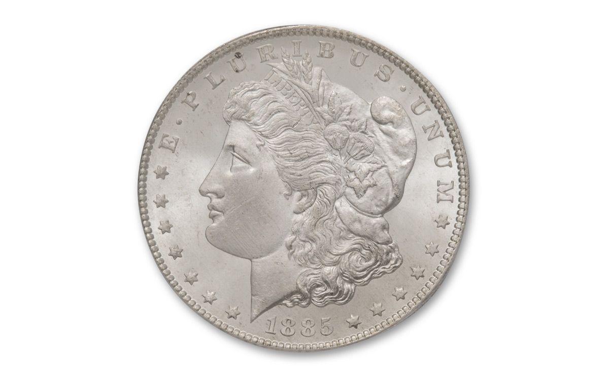 1885 U.S of America 1 dollar Morgan /& Eagle Commemorative Coin Retro Collection
