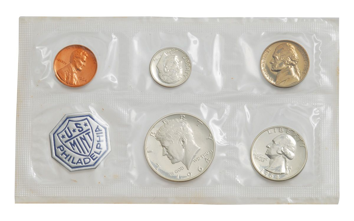 Silver Proof Set 1964 U.S