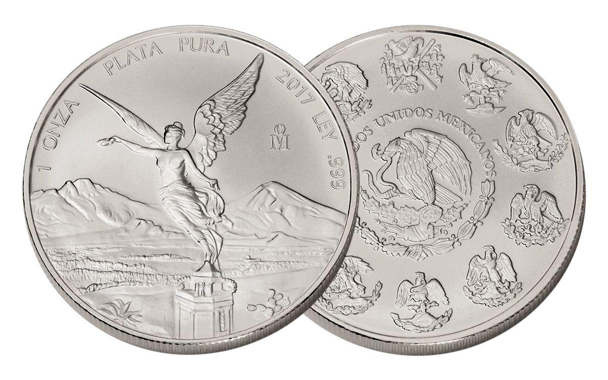 1 Onza 2018 Mexico Silver Libertad BU 1 oz
